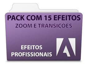 Pack 15 Efeitos Zoom E Transições Adobe Premiere