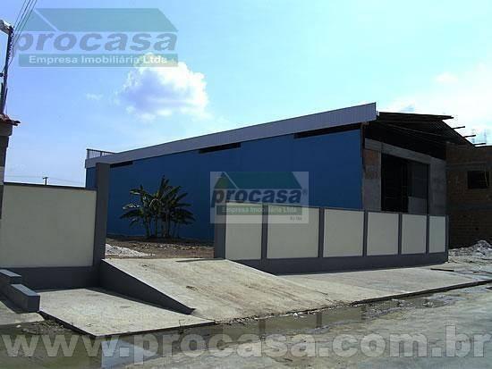 Galpão À Venda, 1050 M² Por R$ 1.500.000,00 - Flores - Manaus/am - Ga0137