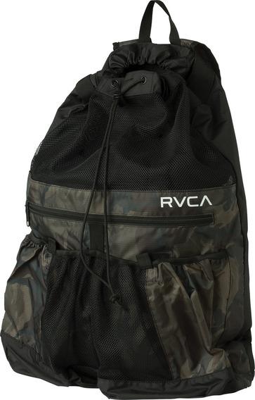Mochila Rvca, Mod. Drawcord Backpack, Color Camo.