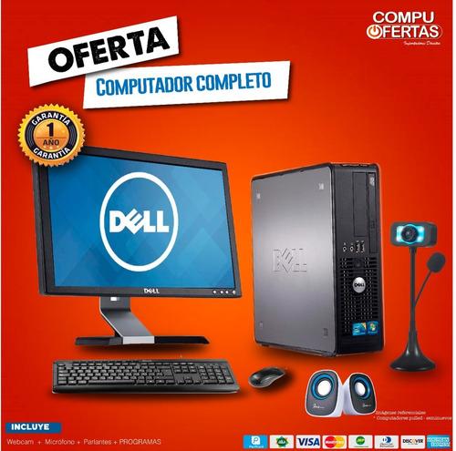 Computadora Oferta Cpu+monitor,juegos,gamer |core I3, I5, I7