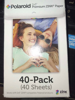 Papel Zink Polaroid 2x3 40 Pack