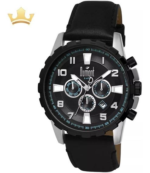 Relógio Dumont Masculino Dujp25cag/0p Com Nf