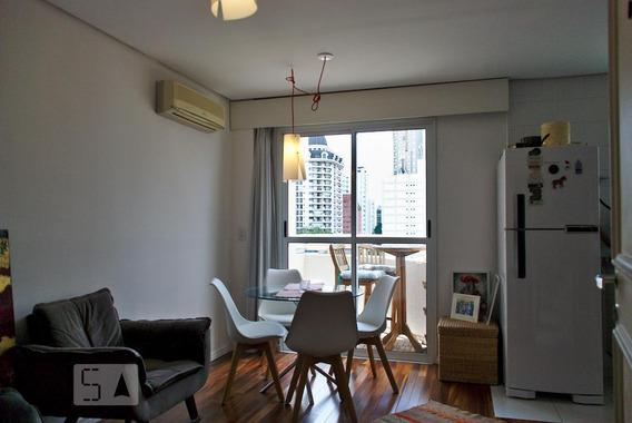 Apartamento Para Aluguel - Itaim Bibi, 1 Quarto, 45 - 893025482