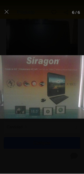 Computador Todo En Uno T1800 Siragon Pantalla Tactil.