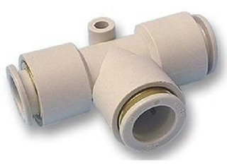 Acople Rapido Racor Union T Tres Tubo 6 Mm Neumatica 3d
