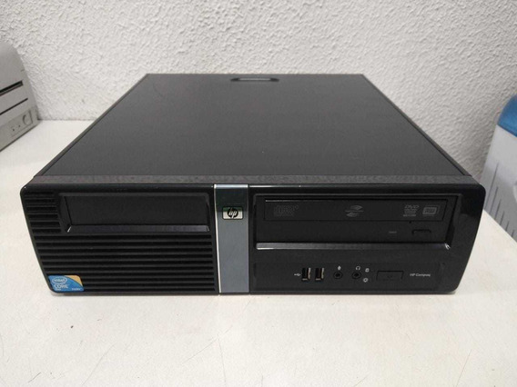 Cpu Computador Hp Dx7500 Core2duo 4gb Ram 500gb Hd Brinde