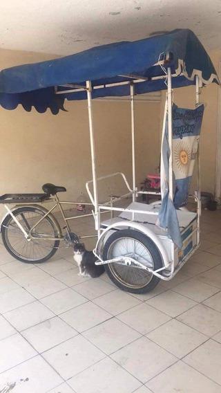 Triciclo Para Vender Comida Con Ruedas De Moto