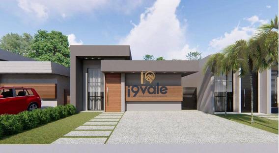 Futuro Lançamento - 117 M² Por R$ 390.000 - Parque Lago Azul - Pindamonhangaba/sp - Ca1753