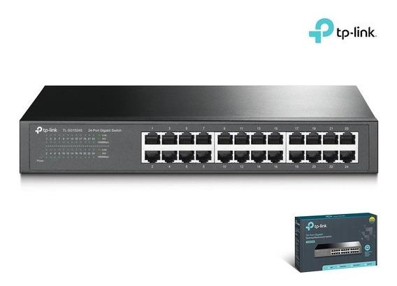 Switch Tp Link 24 Puertos 10/1000 Mbps Tl-sf1024d