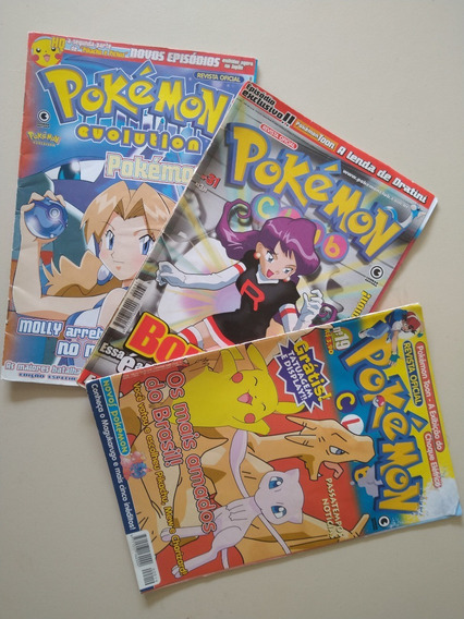 Revista Oficial Pokemon Club Nºs 19, 31 E 40
