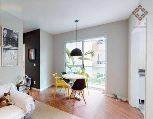 Apartamento Para Compra Com 2 Quartos E 1 Vaga Localizado Na Aclimação - Ap53743