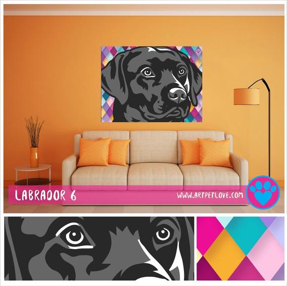 Cuadro Art Pet Love - Labrador 6.
