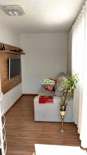 Apartamento Com 2 Dormitórios À Venda, 80 M² Por R$ 300.000,00 - Jardim São Domingos - Guarulhos/sp - Ap0923