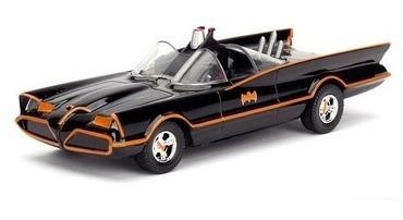Classic Tv Series Batmobile Hollywood Rides Metals Die Cast