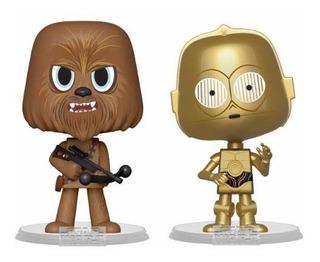Funko Pop - Star Wars - Vynl - Chewbacca - Darth Vader - Dc
