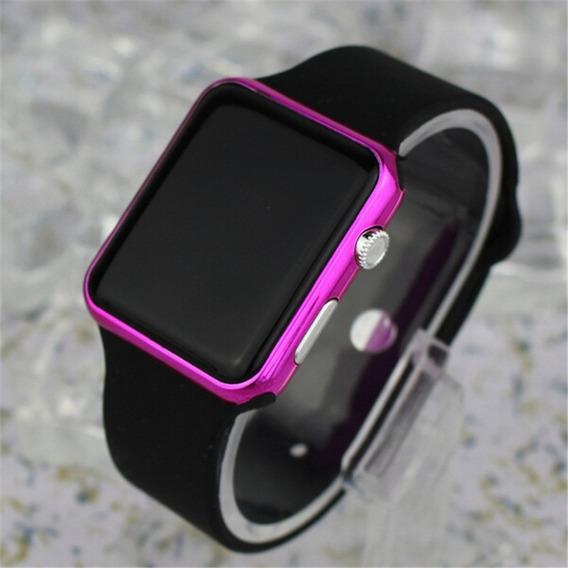 Relógio Pulso Digital Led Feminino Esportivo Casual Barato