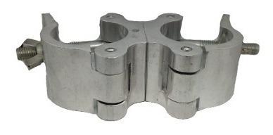 Algema Abraçadeira Dupla P/ Treliça Alumínio Ql30