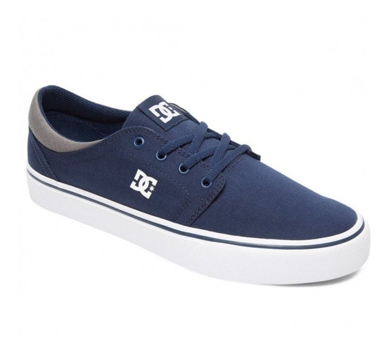 Zapatillas Dc Shoes Trase Tx Azul Tallon Gris