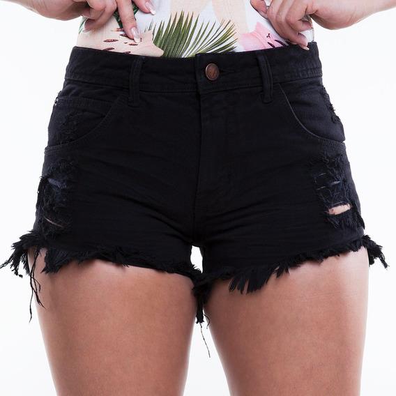 Short Feminino Jeans Like You Mormaii