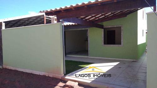 Imagem 1 de 11 de Casa Com 02 Quartos Em Unamar - Cabo Frio/rj.