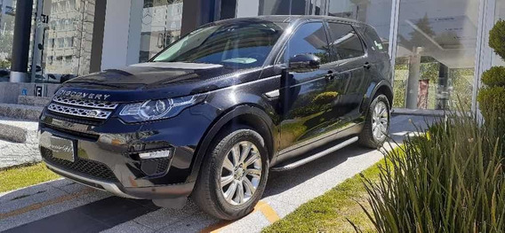 Land Rover Discovery Sport Hse 2016 Negro 7 Pasajeros