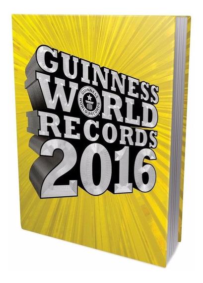 Guinness World Records 2016 - Novo Lacrado - Capa Dura