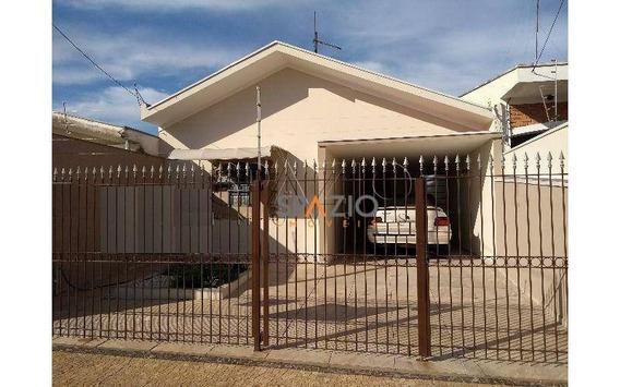 Casa Residencial À Venda, Cidade Claret, Rio Claro. - Ca0147