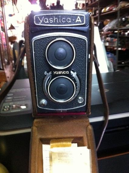 Camera Antiga Fotografica Yashica - Para Colecionadores