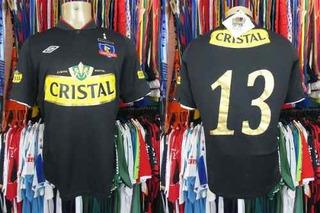 Colo Colo 2013 Camisa Reserva Tamanho M Número 13.