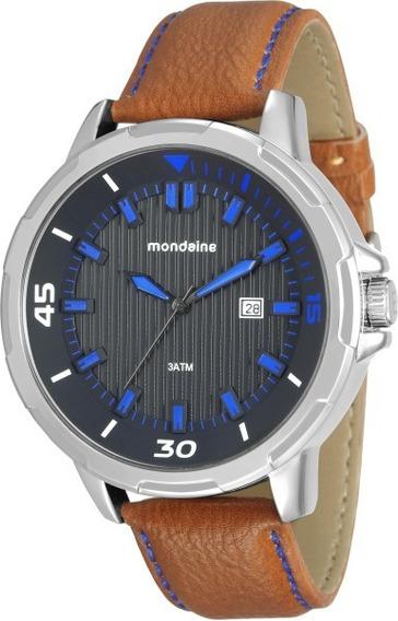 Relógio Masculino Mondaine Análogo Social 76633g0mvnh1 C/ Nf