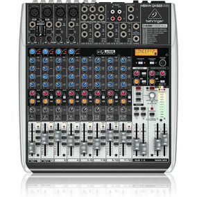 Mesa De Som Mixer Com 16 Canais Bivolt - Qx1622usb - Behrin