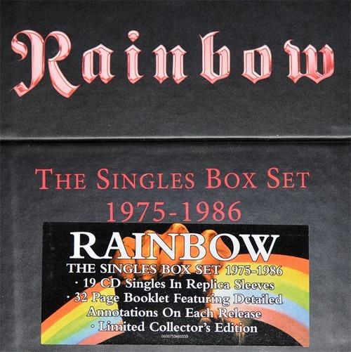 Rainbow - The Singles Box Set 1975-1986 - Box - Novo Lacrado