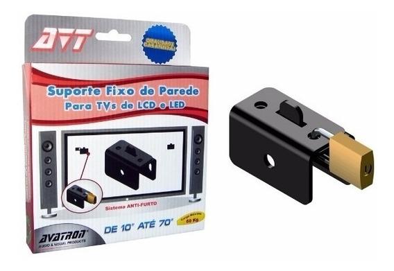 Kit 5 Suporte Tv Parede Universal Dispositivo Anti-furto