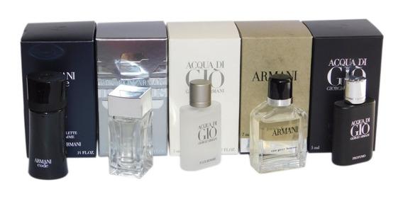 Kit Miniatura Perfume Giorgio Armani Original Lacrado