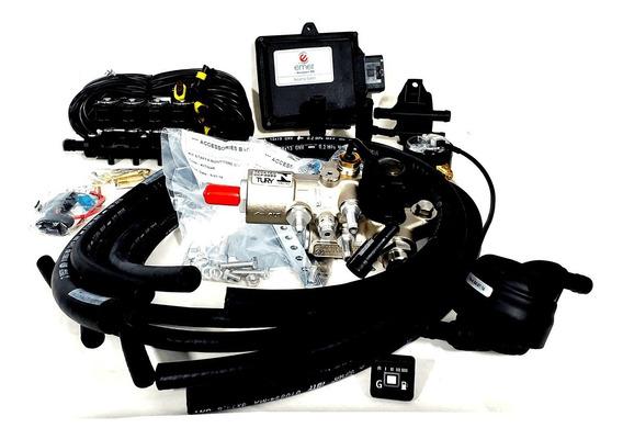 Kit Gnv 5ª Geração Emer Absolut 4 Power Tury.