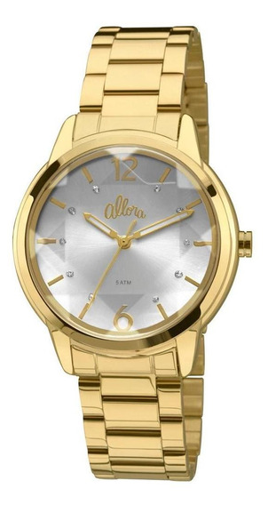 Relógio Allora Facetados Flor Da Pele - Al2036cj/4k
