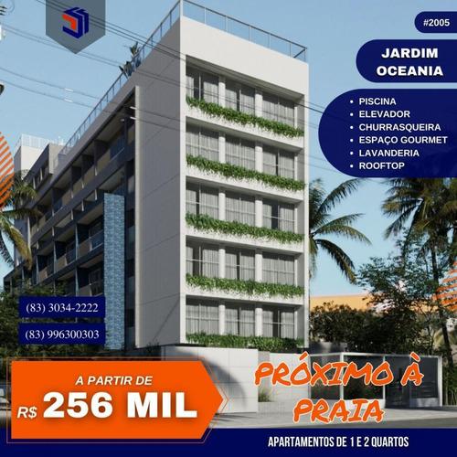 Apartamento Para Venda Em João Pessoa, Bessa, 1 Dormitório, 1 Banheiro, 1 Vaga - 2005_1-1620493