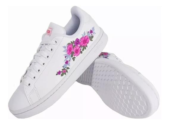 Zapatillas adidas Advantage Mujer Urbanas Ef0130 Eezap