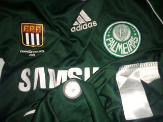 Camisa Palmeiraslmeiras Crianças Tamanho 12 Anos