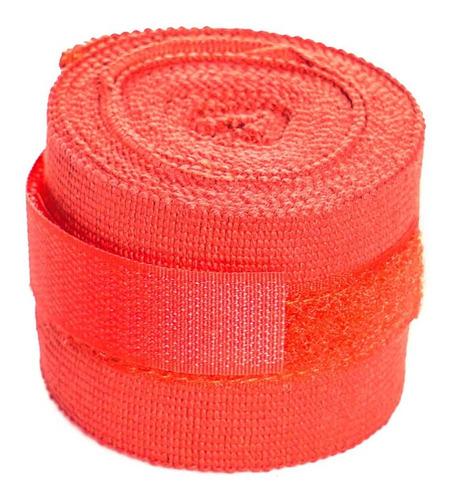 Imagen 1 de 6 de Vendas De Boxeo De 4m! Varios Colores! Con Dedo Y Velcro
