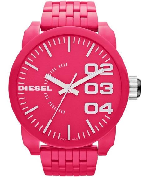Relogio Diesel Franchise Dz1573 Rosa Original
