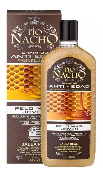 Tio Nacho Shampoo Anti-edad Y Anti-caida X 415ml