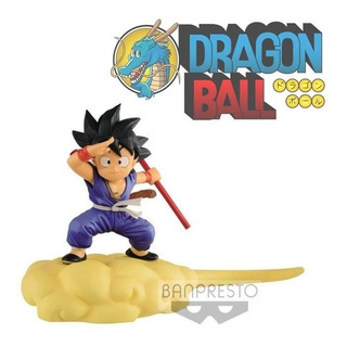 Banpresto Dragon Ball Kid Goku Blue Y Flying Nimbus Kintoun