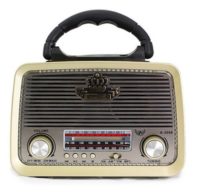 Radio Retro Antigo Vintage A-3199 Altomex Fm Am Usb Sd Mp3