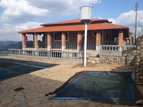 Imagem 1 de 30 de Linda Chácara Com Escritura, 2 Dormitórios, Piscina, Pomar, Bem Localizada, À Venda, 1450 M² Por R$ 500.000 - Zona Rural - Pinhalzinho/sp - Ch1028
