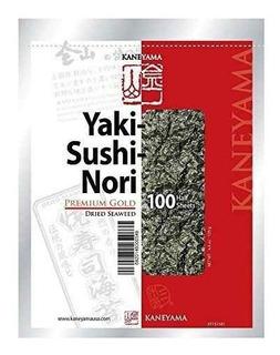Kaneyama Yaki Sushi Nori / Algas Secas, Envasado Al Vacío /