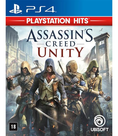 Assassins Creed Unity Ps4 A Pronta Entrega