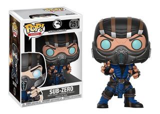 Funko Pop 251 Mortal Kombat X Sub-zero Nuevo Original