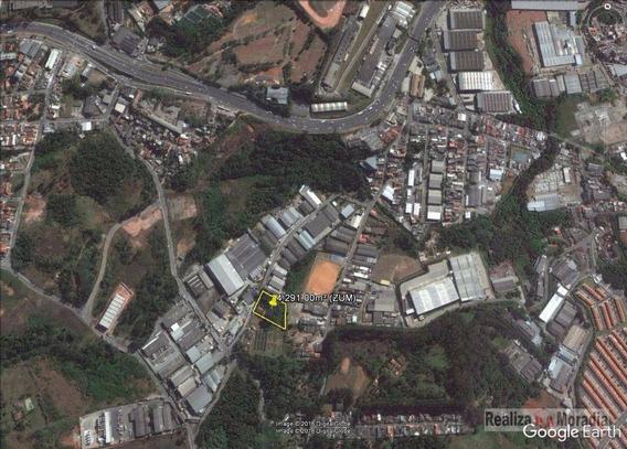 Terreno Para Galpão Industrial - (zoneamento:zics) - 4.291,00m² - Te0089
