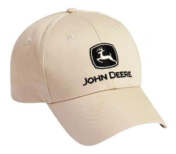 Cachucha John Deere 100% Original Gorra Beige Modelo Lp17595